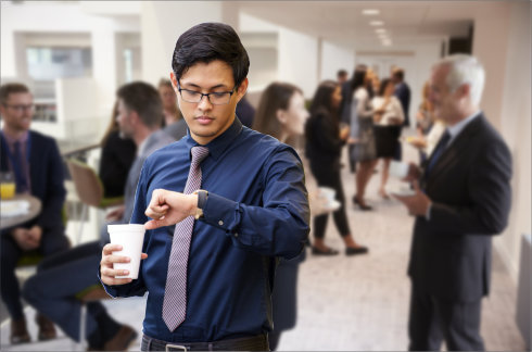 there are many ways to get value out of attending networking events