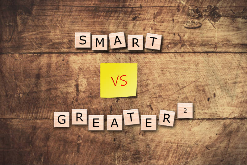 SMART Goals vs. GREATER² Goals