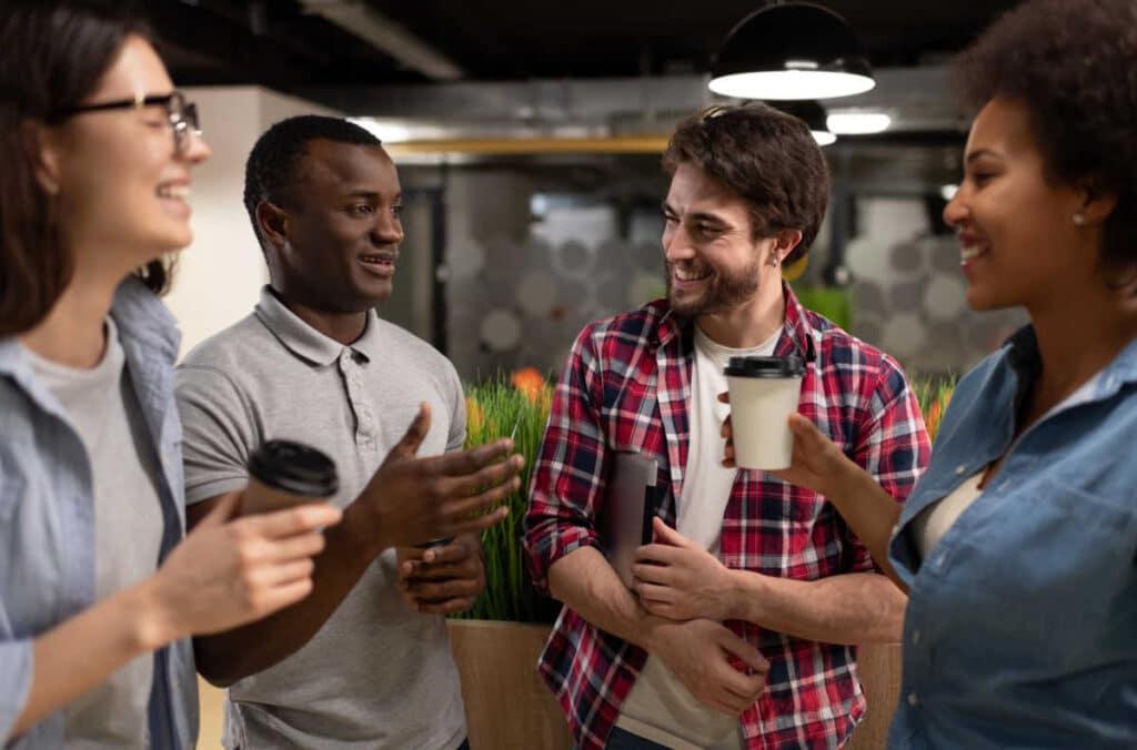 develop deeper relationships when networking