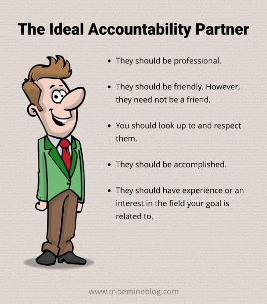 the perfect accountability partner